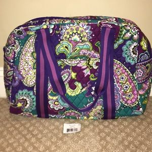 New Vera Bradley sport duffel heather bag w/ strap